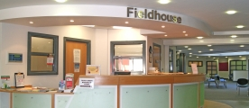 Fieldhouse reception