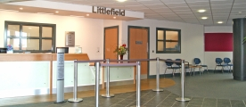 Littlefield reception
