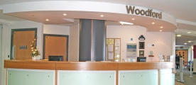 Woodford reception